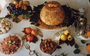 Syon House 18th century banquet, by Liz Calvert Smith